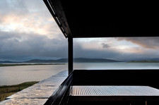 black-timber-external-deck-holiday-let-photography