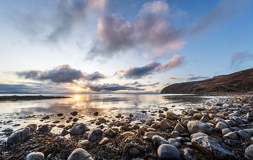 landscape-photograph-beach-stones-kintyre-coast