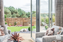 Cala-Homes-garden-view-through-bifold-doors-showhome-photographer