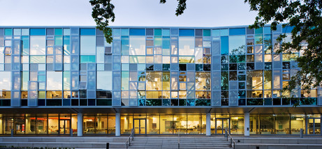 Roslin-Institute-offices-dusk-exterior-architectural-photography