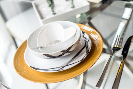 Cala-Homes-lifestyle-detail-dinner-service-heart-bowl-showhome-photographer