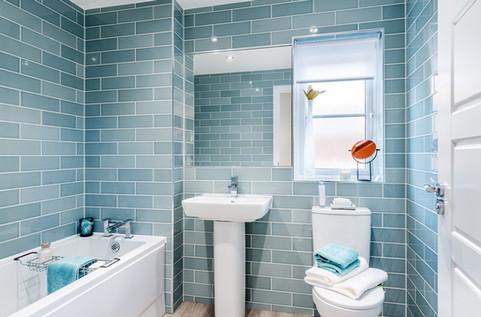 Barratt-Homes-cool-aqua-tiled-bathroom-showhome-photographer