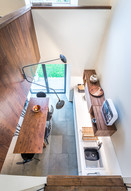 modern-timber-kitchen-from-above-interior-photographer