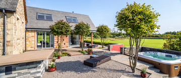 converted-steading-courtyard-hot-tub-architectural-photography