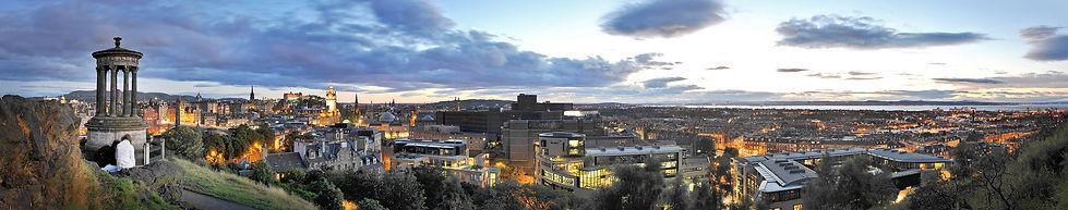 Architectural-Photographer-Edinburgh-cityscape-dusk