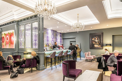 Mercure Hotel bar and lounge interior photography