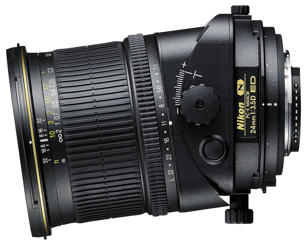 Nikon 24mm f/3.5 PC-E lens - architectural photography gear guide