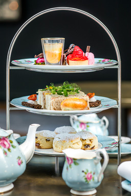 sandwiches-cakes-scone-afternoon-tea-for-two-hotel-commercial-photographer-scotland