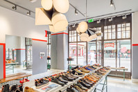 Camper-store-London-shoes-table-interior-photographer