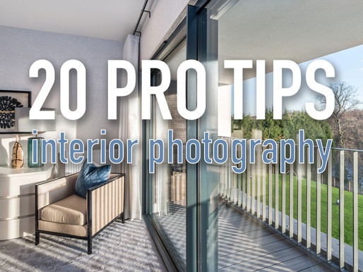 20 expert tips for better interior photos