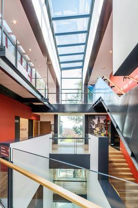world-class-design-carnegie-galleries-richard-murphy-atrium-stairs-bridge-professional-architectural-photography-scotland
