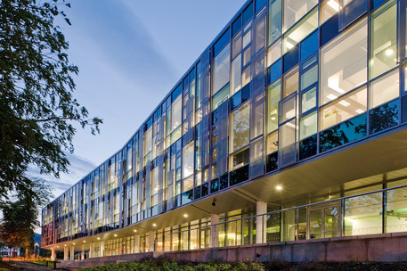 roslin-institute-offices-glass-facade-dusk-architectural-photography