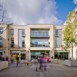 Multrees-Walk-Edinburgh-people-moving-around-architectural-photography
