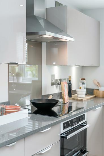 Barratt-Homes-kitchen-cooker-hob-hood-polished-worktop-showhome-photography
