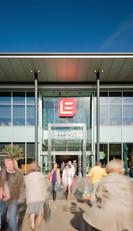 Eldon-Square-entrance-people-moving-architectural-photographer