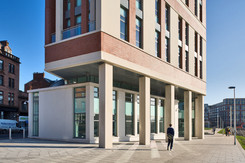 Exterior architectural office photography of Collegelands in Glasgow