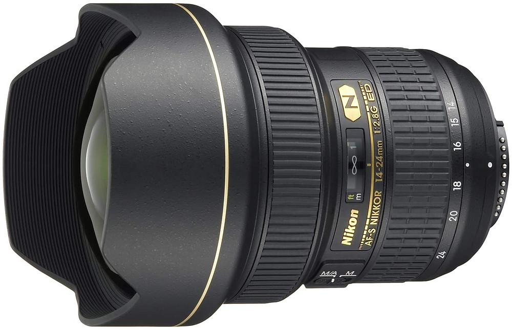 Nikon 14-24mm f/2.8G ED lens - architectural photography gear guide