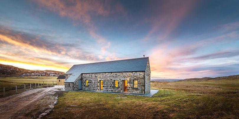holiday-let-photography-dusk-isle-of-coll-whitehouse-lodge