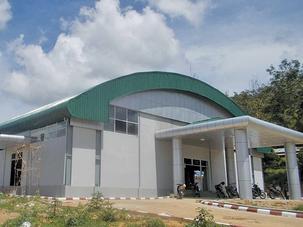 Indoor Stadium Project (Mine Pan)
