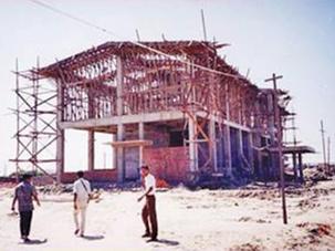 Theelawar Shipyard Construction Project
