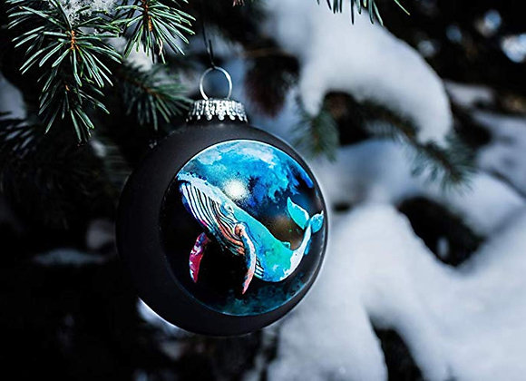Humpback Whale Ornament WS