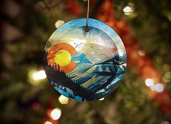 Colorado Winter Suncatcher