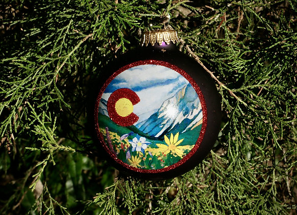 Colorado Wildflower Ornament