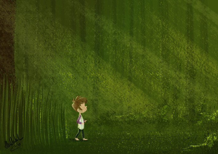 Concept art for Nora (2018).