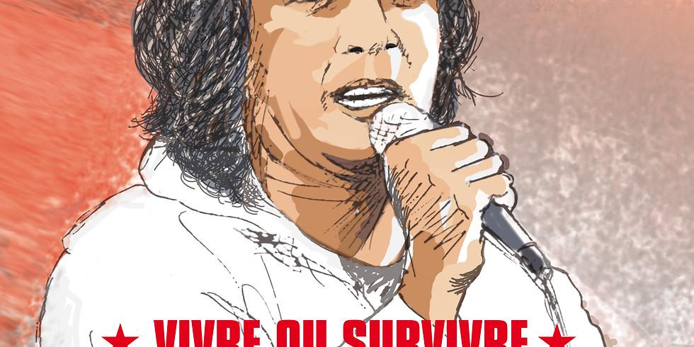 DANIEL BALAVOINE... VIVRE OU SURVIVRE en collaboration avec Les Sitelles | Tarifs : 20/18/10 euros.