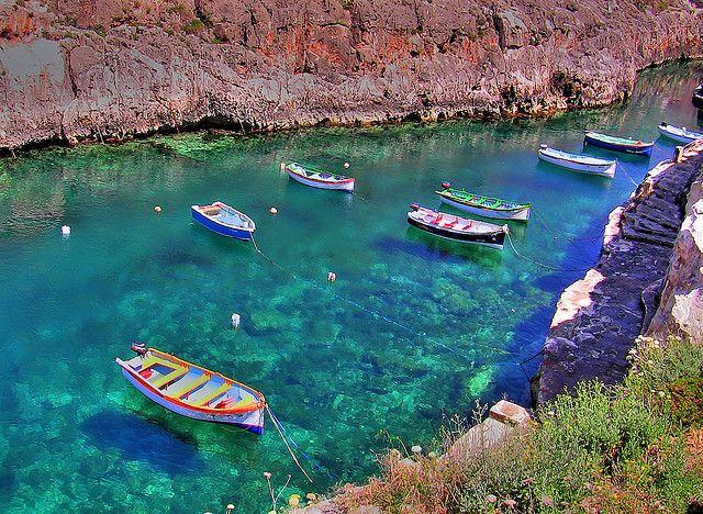 Malte - Grotte Bleue - Blue Grotto - 3