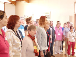 groupe vocal, choral, chant