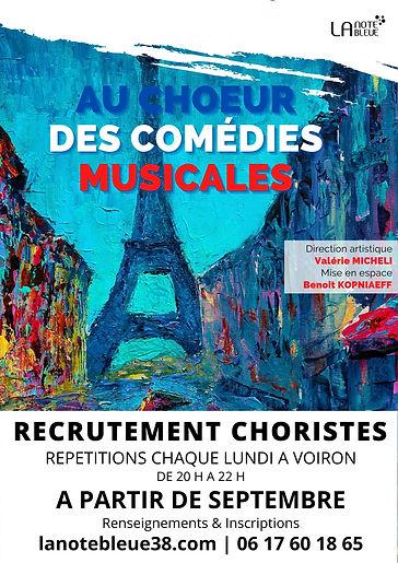 Recrutement - Au choeur des comédies musicales - La Note Bleue.jpg