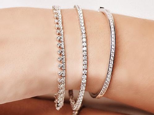 Classic Brilliant Round Diamond Tennis Bracelet
