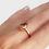 Thumbnail: Morganite Pear Ring 1.7ctw