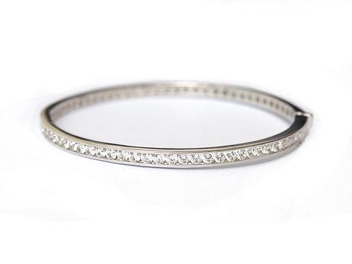 Diamond Eternity Bangle Bracelet