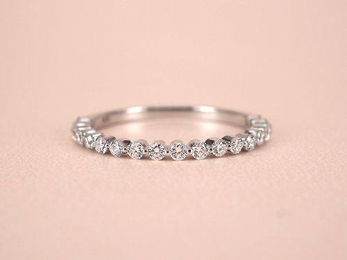 Floating Diamond Eternity Ring 1.8mm