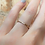 Thumbnail: N - Skinny Diamond Wedding Ring