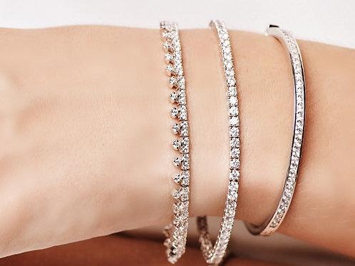 Tiara Diamond Tennis Bracelet