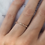 Thumbnail: Classic Peach Sapphire Eternity Ring 1.6mm