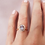 Thumbnail: Lavender Sapphire Engagement Ring