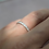 Thumbnail: Pave Set Diamond Eternity Ring 2mm