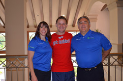 Dr. Justin Luneberg with T&K Staff