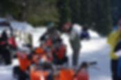 Quad sur glace ice quad flaine entreprise
