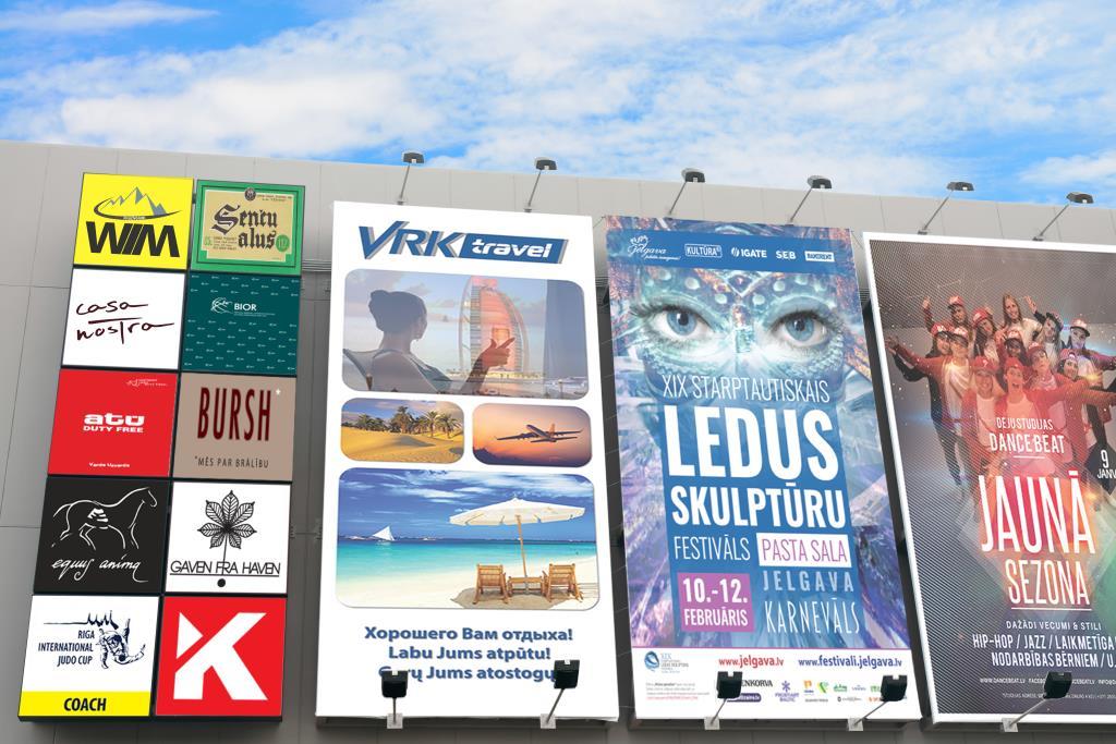 Lielformāta plakāti un baneri