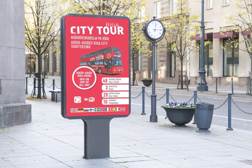 Vides reklāmas plakāts