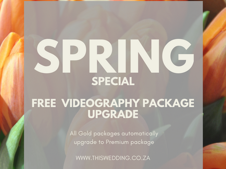 Spring Wedding Videography Special