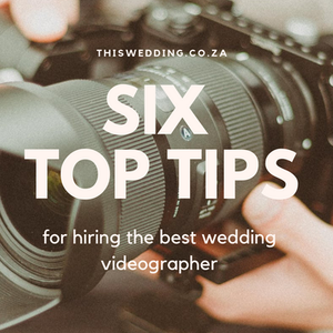 Top Tips for hiring the best wedding videographer