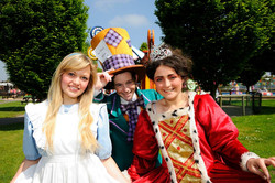 Mad Hatter at Adventure Wonderland 2013