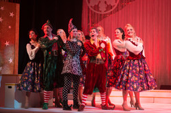 Sprout the Elf in Christmas Spectacular 2014