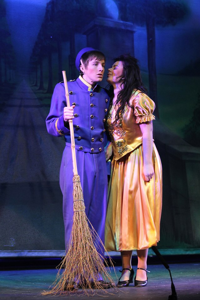 Buttons in Cinderella 2013